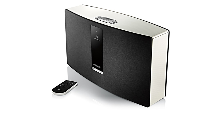 bose soundtouch wireless speakers with preset playlist. Black Bedroom Furniture Sets. Home Design Ideas