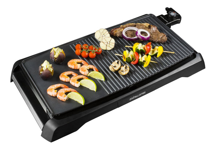 Indoor Tabletop Electric Grill ~ Best table top teppanyaki style barbecue grills bring