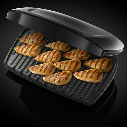 Top 5 best electric grills affordable indoor health grills for George foreman grill fish