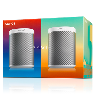 Ubrugte Sonos Play:1 Starter Set - two is better than one | Colour My Living KD-18