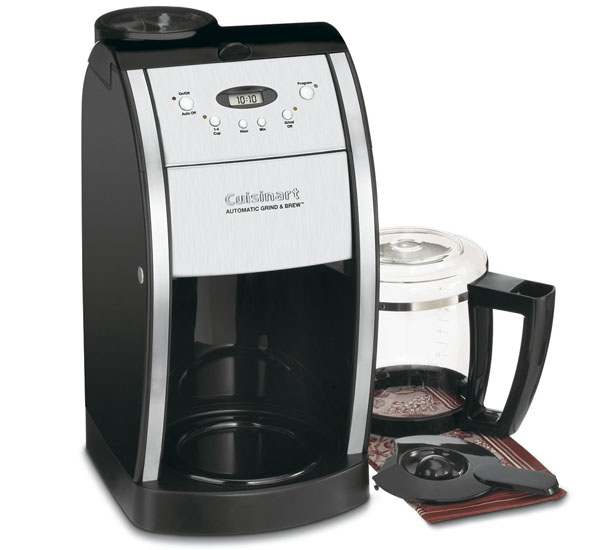 Cuisinart Coffee Maker Charcoal Filter Instructions : Best Coffee Makers with Grinder Bean to jug with grind and brew filter coffee machines
