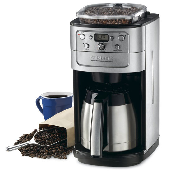 Coffee Maker With Coffee Bean Grinder : Best Coffee Makers with Grinder Bean to jug with grind and brew filter coffee machines