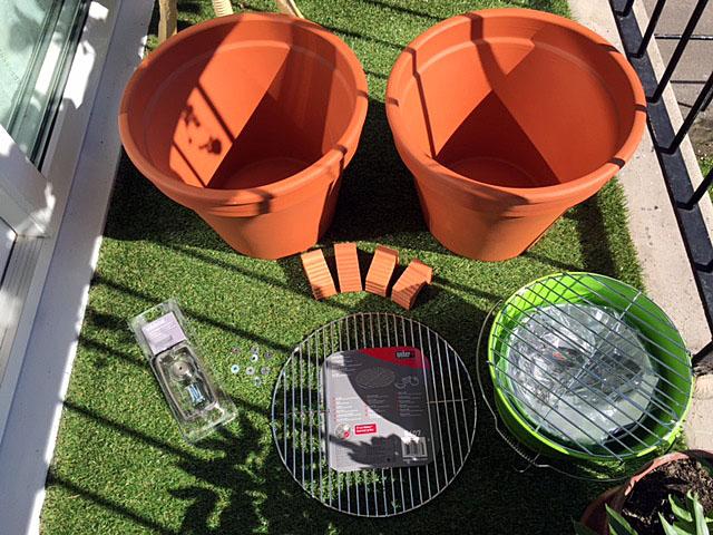 Diy Flower Pot Grill Smoker C\u0026bellandkellarteam & Flower Pot Smoker \u0026 ... Homemade Smoker From Flower Pots DIY Clay ...